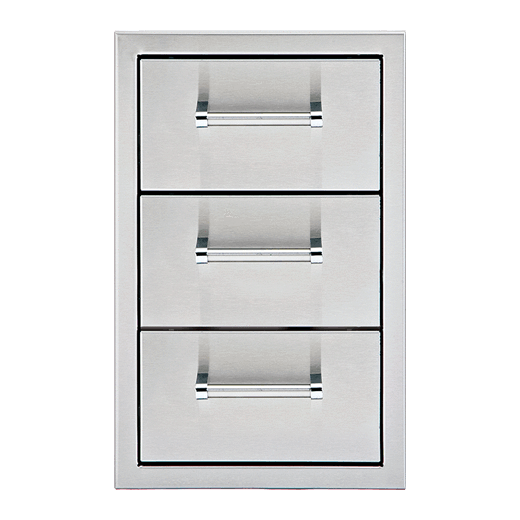 "Delta Heat 13"" Triple Drawer-TheBBQHQ"