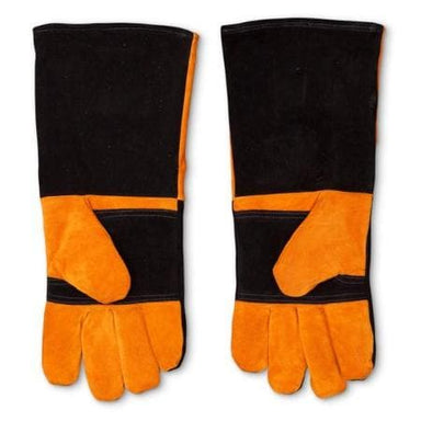 Yoder Smokers Long Leather BBQ Gloves-TheBBQHQ