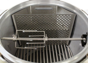 Blaze Easy Indirect Cooking System with Moisture Pan-TheBBQHQ