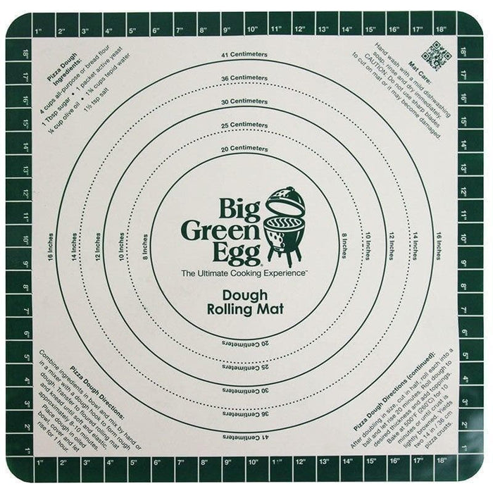 Big Green Egg - Silicone Pizza Dough Recipe Mat