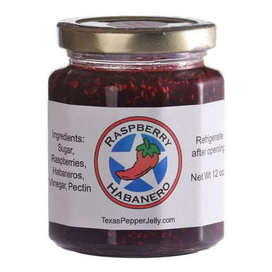 Texas Pepper Jelly Raspberry Habanero Pepper Jelly - TheBBQHQ