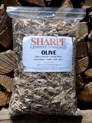 Olive Chips - Sharpe Gourmet Cooking Wood Bag-TheBBQHQ