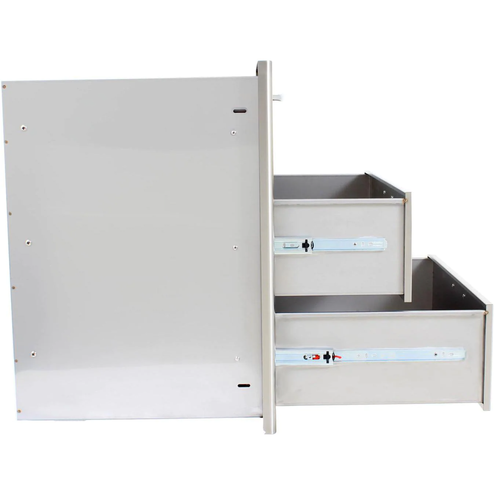 "Blaze 30"" Stainless Steel Triple Access Drawer"