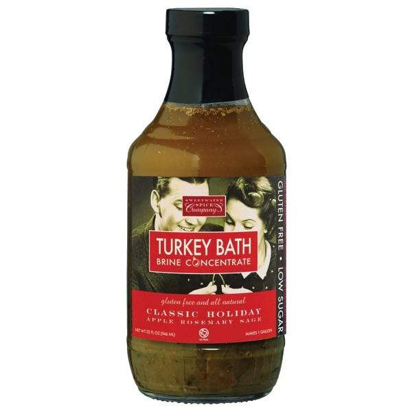 Sweetwater Classic Holiday Apple Rosemary Sage Turkey Bath Brine Concentrate