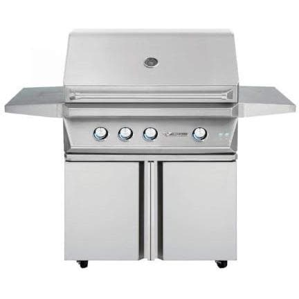 "Twin Eagles 36"" Grill Base, Double Doors"