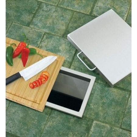 Twin Eagles Trash Chute, Bamboo Cutting Board