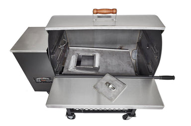 Pitts and Spitts 1250 two piece drip pan-TheBBQHQ