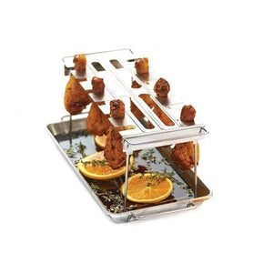 Broil King Stainless Steel Wing Rack-TheBBQHQ