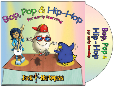 Bop, Pop & Hip-Hop for Early Learning CD
