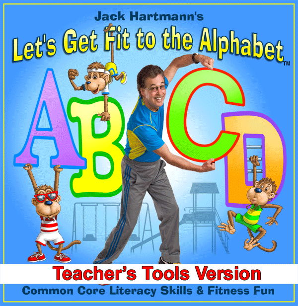 Let's Get Fit to the Alphabet Teacher's Tools MP3