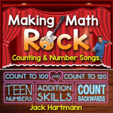 Making Math Rock - Counting & Number Songs CD