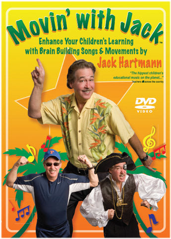 Movin' With Jack DVD