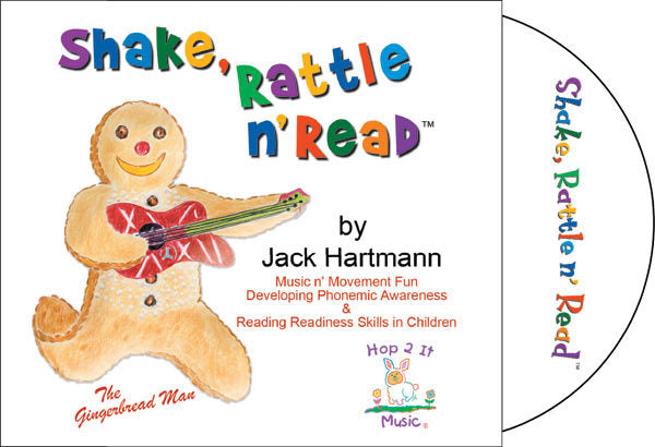 Shake, Rattle n' Read CD