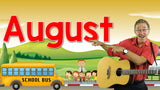 Video Download - The Month of August (Back to School Version)
