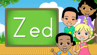 Download - The Alphabet A-Z - Letter Zed