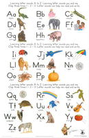 Learning Letter Sounds Block Chart