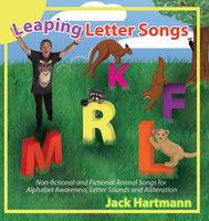 Leaping Letter Songs CD