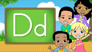 Download - The Alphabet A-Z - Letter D