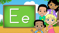 Download - The Alphabet A-Z - Letter E