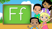 Download - The Alphabet A-Z - Letter F