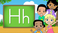 Download - The Alphabet A-Z - Letter H