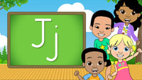 Download - The Alphabet A-Z - Letter J