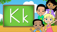 Download - The Alphabet A-Z - Letter K