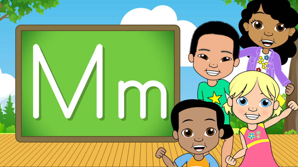 Download - The Alphabet A-Z - Letter M