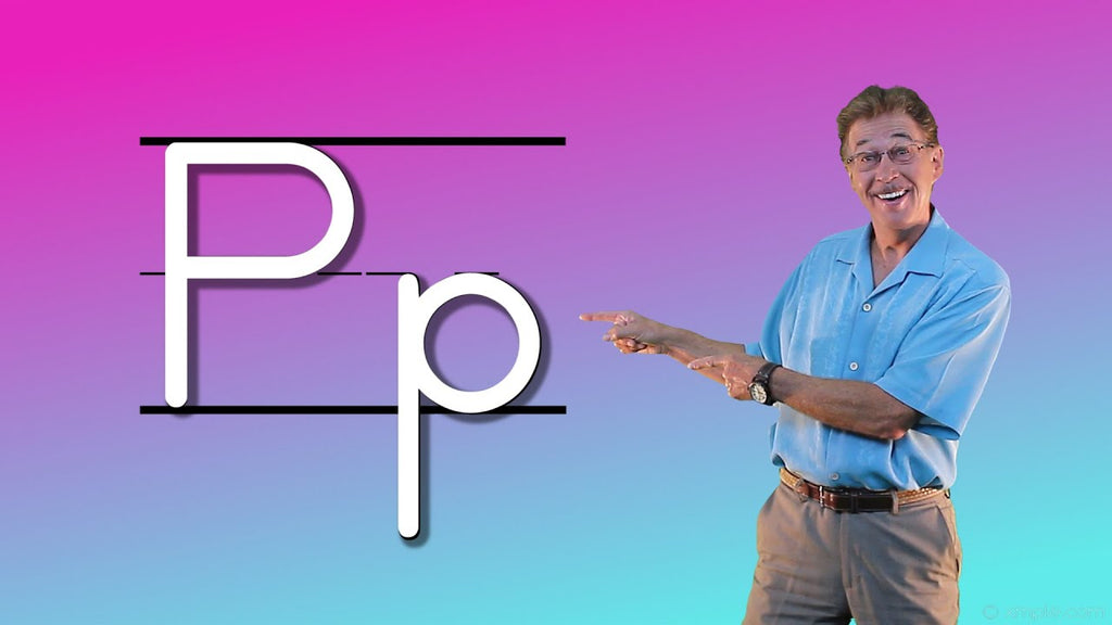 Video Download - Let's Learn About the Alphabet - Letter P