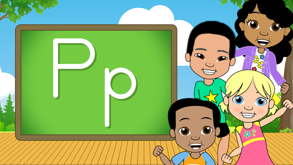 Download - The Alphabet A-Z - Letter P