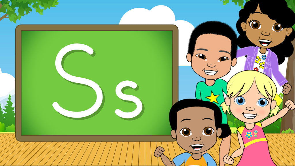Download - The Alphabet A-Z - Letter S