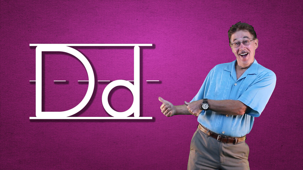 Video Download - Let's Learn About the Alphabet - Letter D