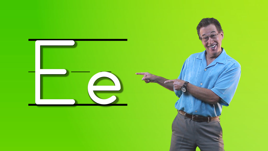 Video Download - Let's Learn About the Alphabet - Letter E
