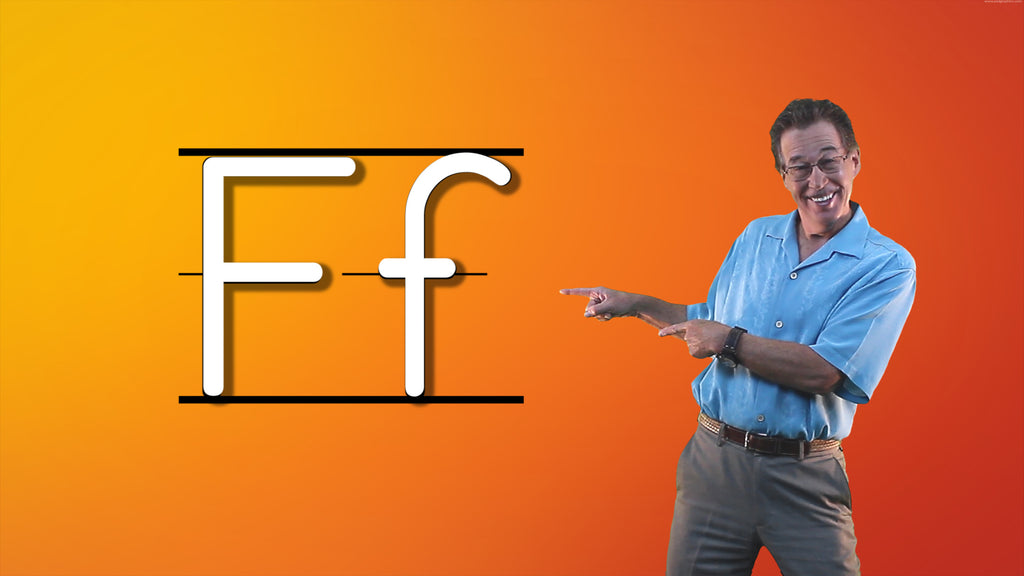 Video Download - Let's Learn About the Alphabet - Letter F