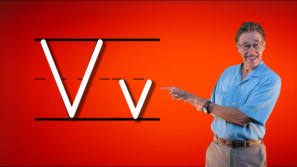Video Download - Let's Learn About the Alphabet - Letter V