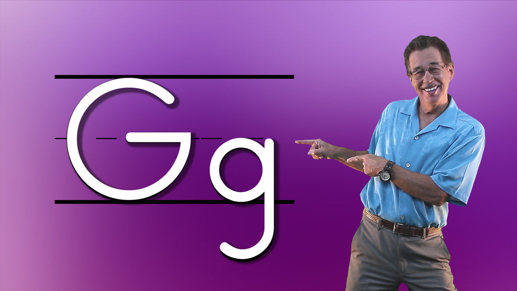 Video Download - Let's Learn About the Alphabet - Letter G
