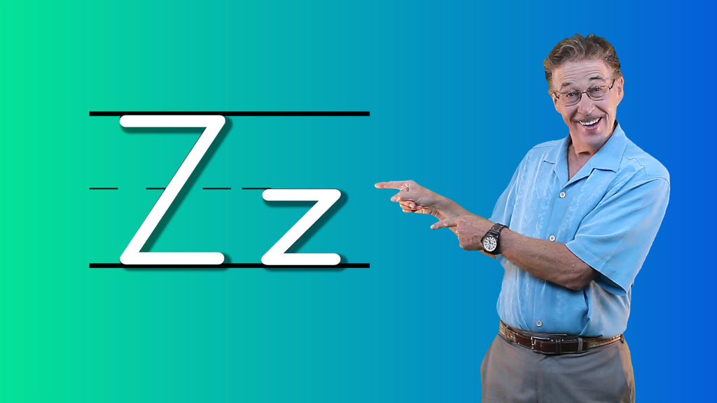 Video Download - Let's Learn About the Alphabet - Letter Z