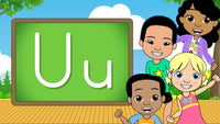 Download - The Alphabet A-Z - Letter U