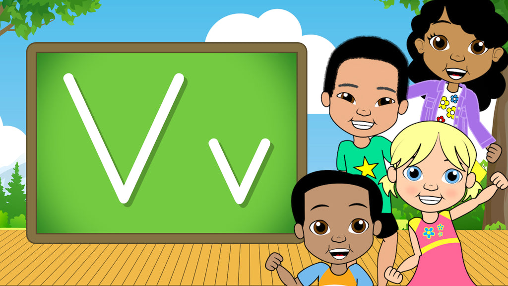 Download - The Alphabet A-Z - Letter V