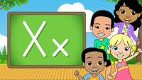 Download - The Alphabet A-Z - Letter X
