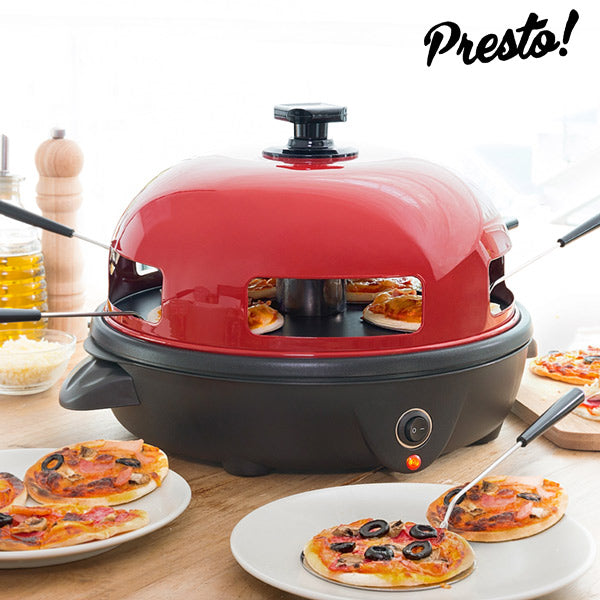 presto four mini pizza cooking gourmet. Black Bedroom Furniture Sets. Home Design Ideas