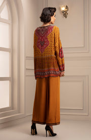 Rajdeep Ranawat-Mustard Top With Pant-INDIASPOPUP.COM