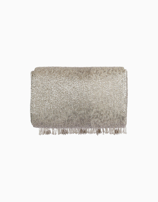 Lovetobag-Silver Ritzy Flapover Clutch-INDIASPOPUP.COM