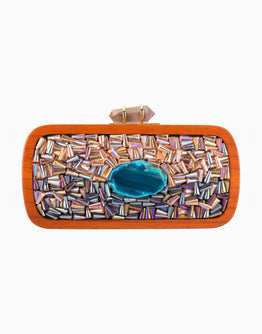DUET LUXURY JEWEL TONES DESIGN CLUTCH