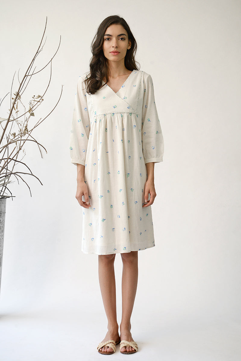 Ecru Amelia Rose Dress