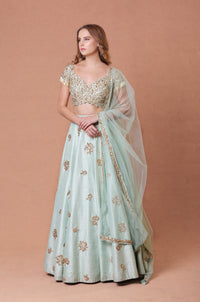 MAHIMA MAHAJAN GOLD EMBROIDERED LEHENGA