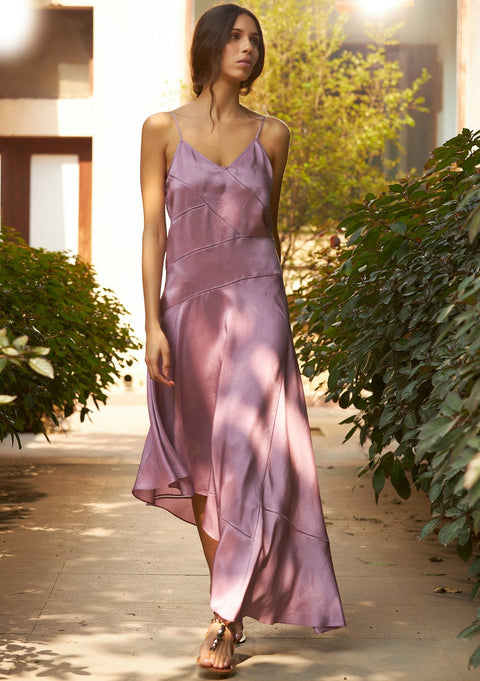 Birdwalk-Mauve Slip Dress-INDIASPOPUP.COM