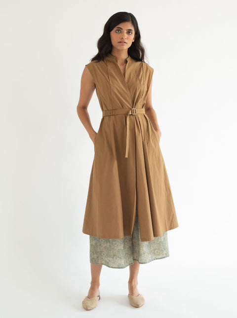 Cord-Biscuit Noah Dress-INDIASPOPUP.COM
