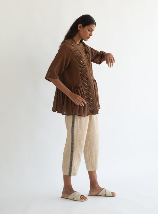 Cord-Brown Hill Top-INDIASPOPUP.COM