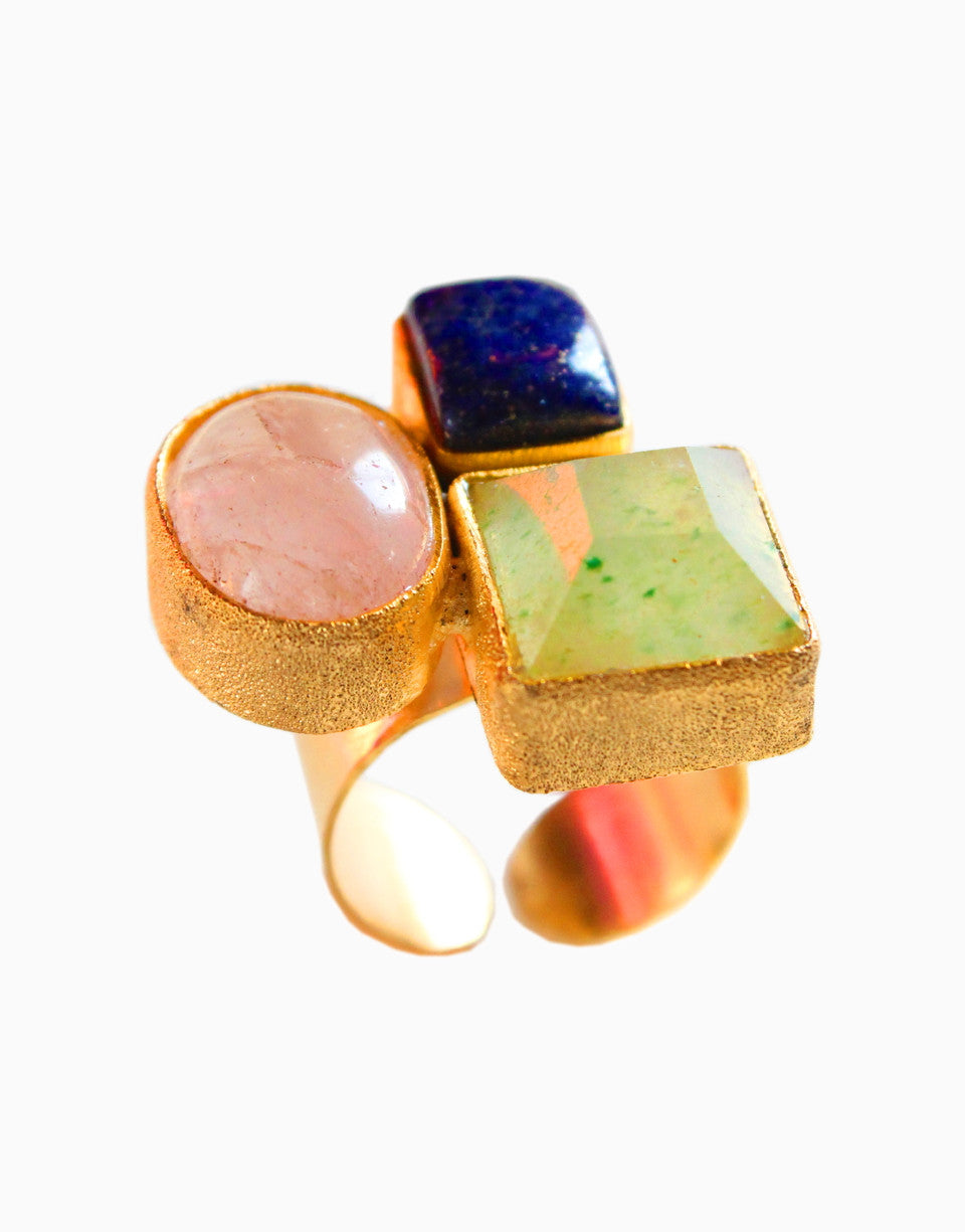 HYPERBOLE ASYMMETRIC TRIO RING